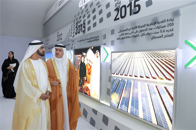 Shuaa Energy Will Produce 200 MW of Solar Energy in Dubai