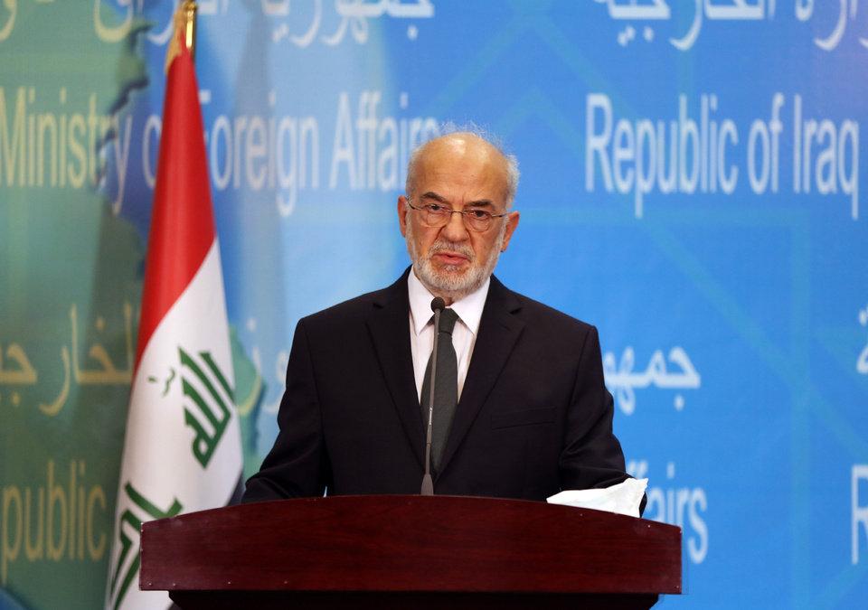 Iraqi FM: Dead Sea Summit to Narrow Differences