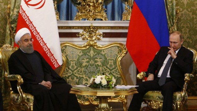 Putin, Rouhani Meet in Moscow, Avoid Politics, Focus on Economy