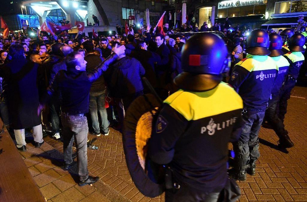 Erdogan Escalates Tone against Netherlands on Eve of Dutch Election