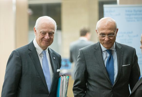 UN Mediator Urges Syria Sides to Engage in Geneva Talks