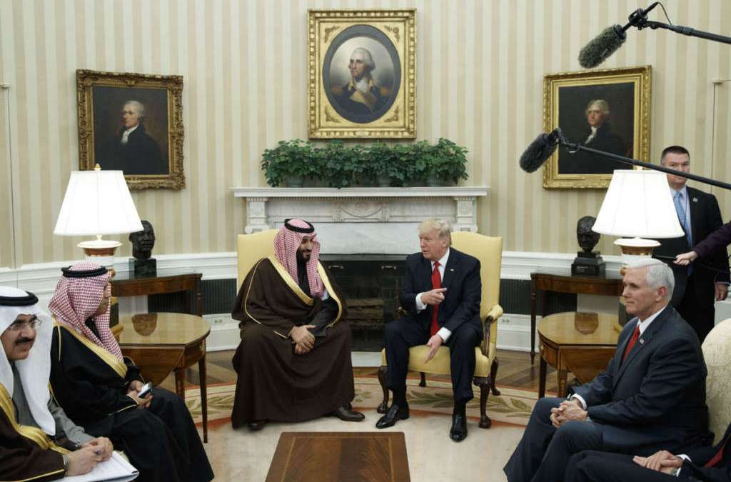 Trump Hosts Saudi Deputy Crown Prince in White House