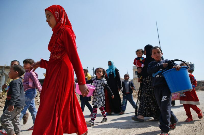 UN Chief Urges More Aid for People of Mosul