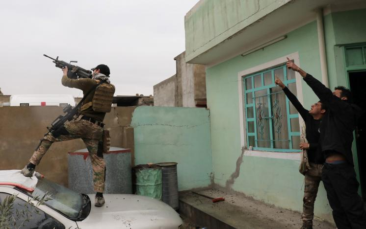 Iraqi Forces Launch New Push toward Mosul Old City Center