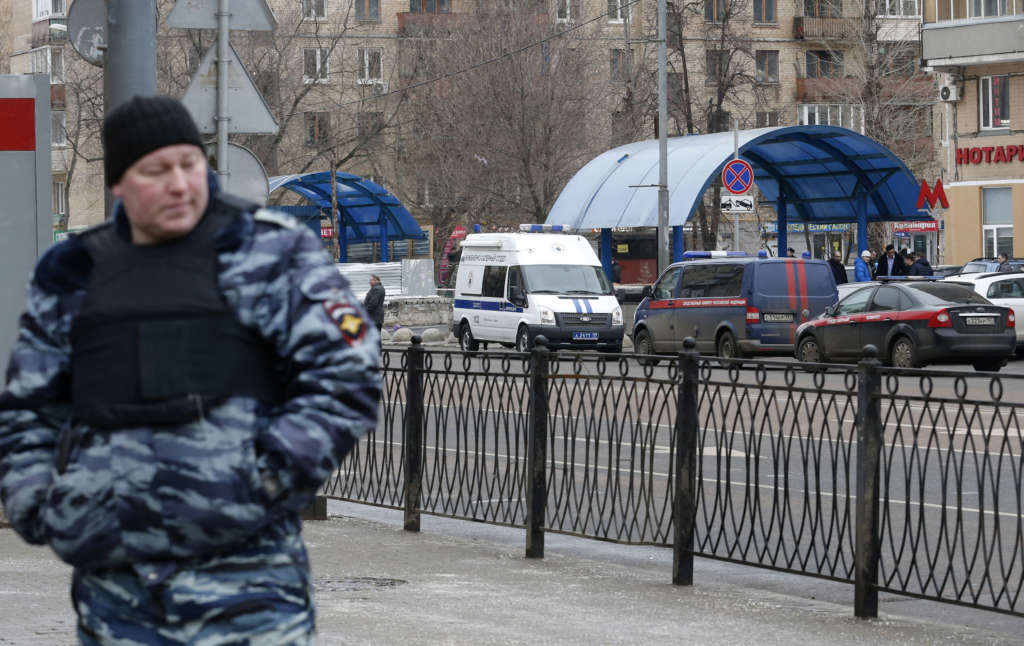 ISIS Militant Arrested in Moscow for Attempting to Blow Himself Up on Women's Day