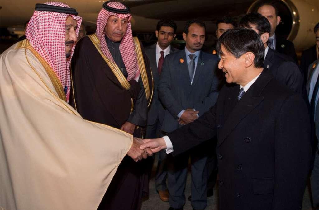 Packed Program Awaits Saudi King in Japan