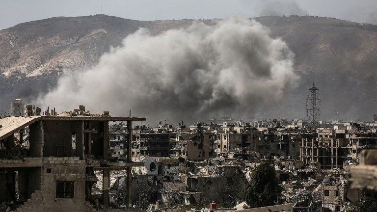 Factions, Including Nusra, Surprise Regime in Heart of Damascus