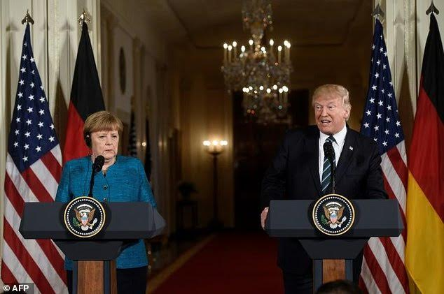 Trump to Merkel: I am Not Isolationist… Immigration Not a Right