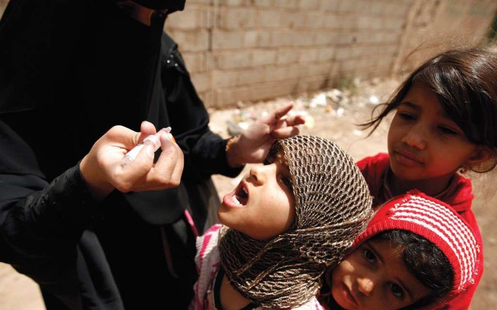 UNICEF Reaches 5 Million Yemeni Children in Polio Immunization Campaign
