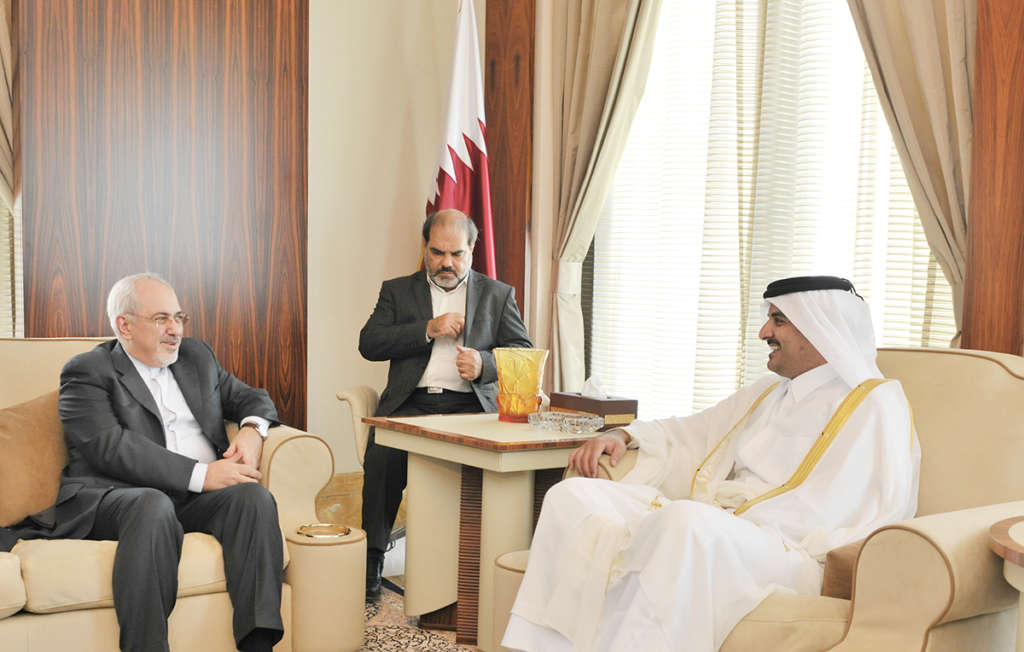Zarif in Doha to Normalize Relations with the Gulf