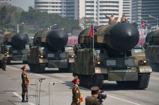 North Korea Displays Apparently New Missiles amid Rising Tensions across the Region