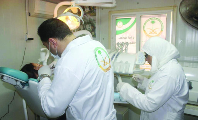 Saudi Clinics Vaccinate against Epidemics in Jordan's Zaatari Refugee Camp