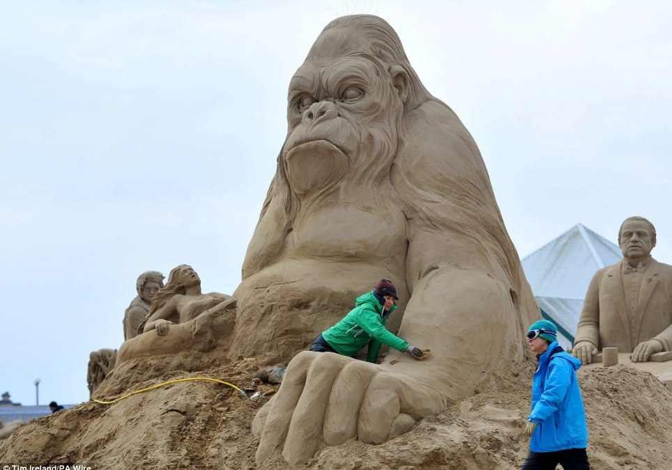 'Sea Adventures' Festival for Sand Sculptures in Germany
