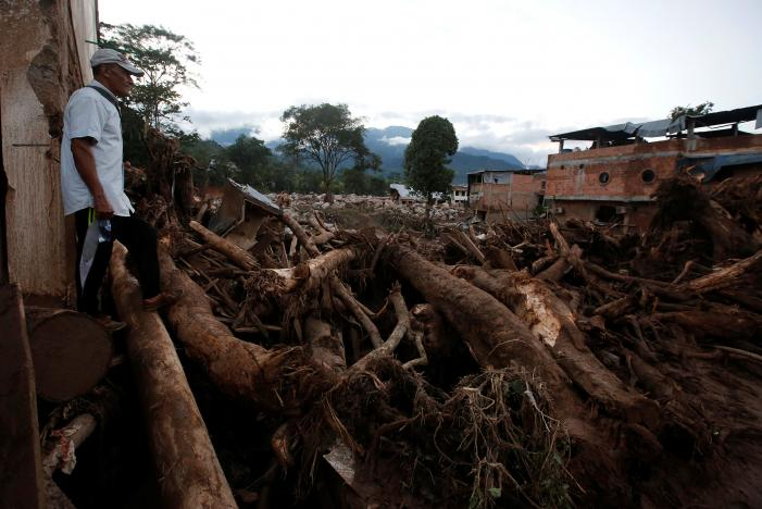 At Least 250 Killed in Mudslides in Colombia