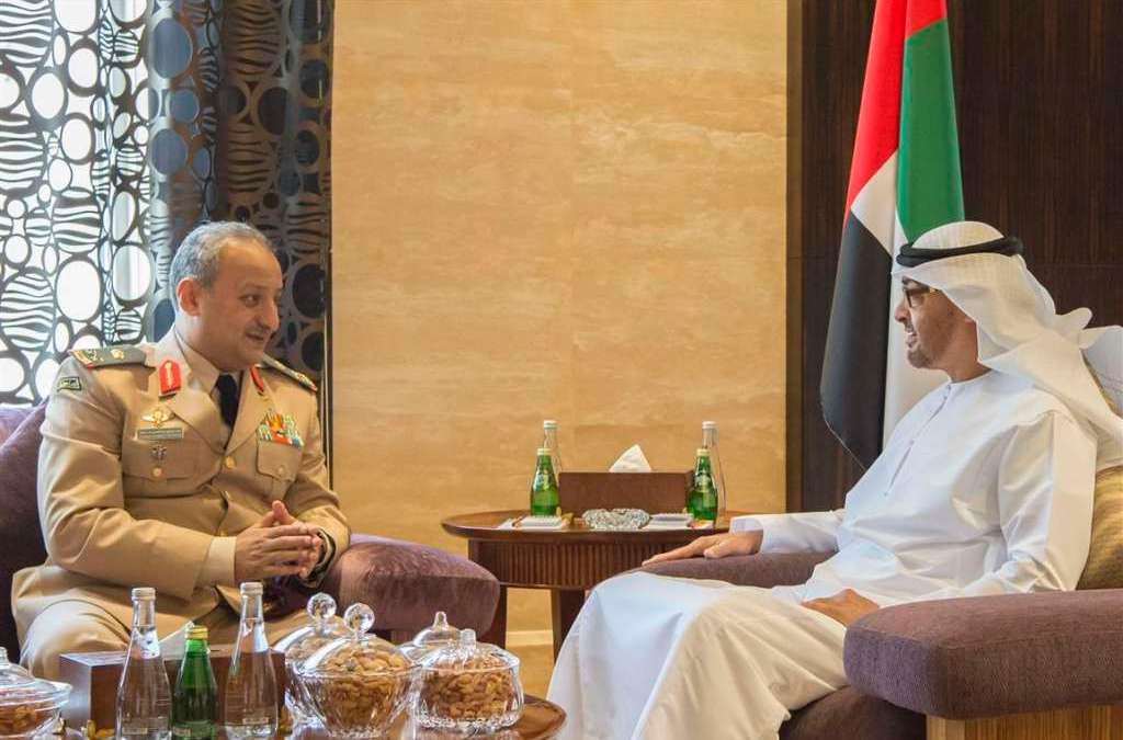 Abu Dhabi Crown Prince Discusses with Haftar International Efforts to Achieve Stability in Libya