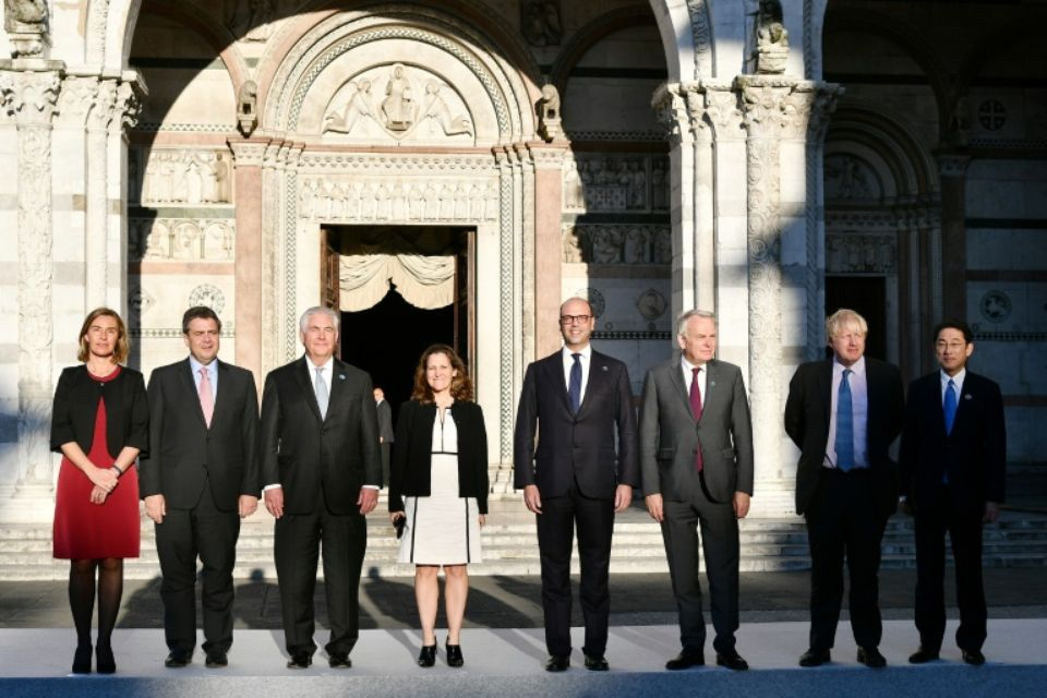 G7 Sees 'No Future in Syria Possible with Assad'