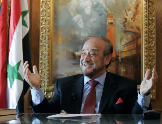 Assad's Exiled Uncle Probed in Spain over Money Laundering