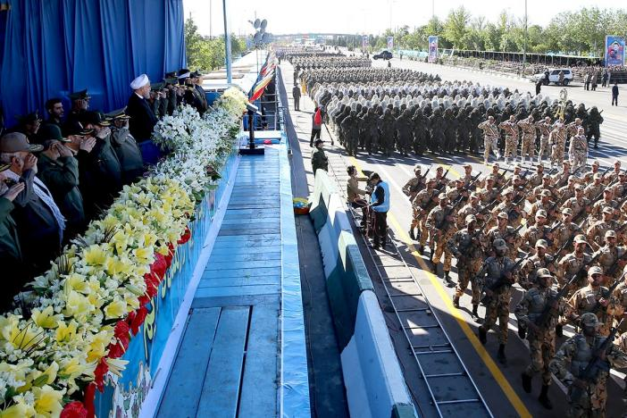 Rouhani Urges Iran's Armed Forces to Steer Clear from Politics, Economics