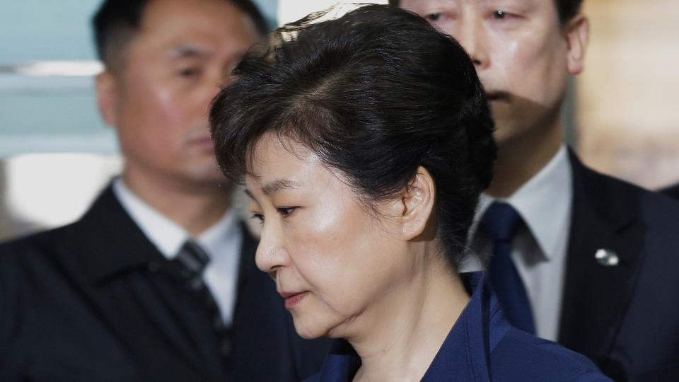 Ousted South Korean President Charged with Bribery