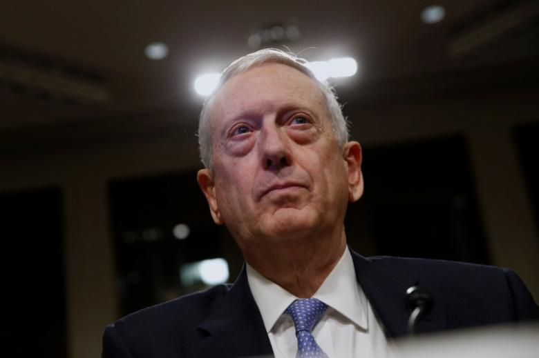 On First Mideast Trip, Mattis May Clarify Trump's Syria Policy