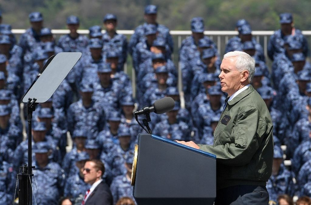 Pence Promises 'Overwhelming' US Response to Any North Korea Attack