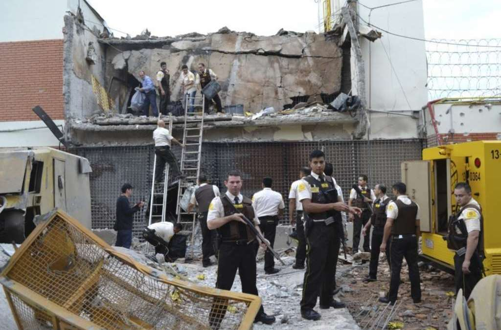Brazilian Gang Steals $40 Million in Paraguay Heist
