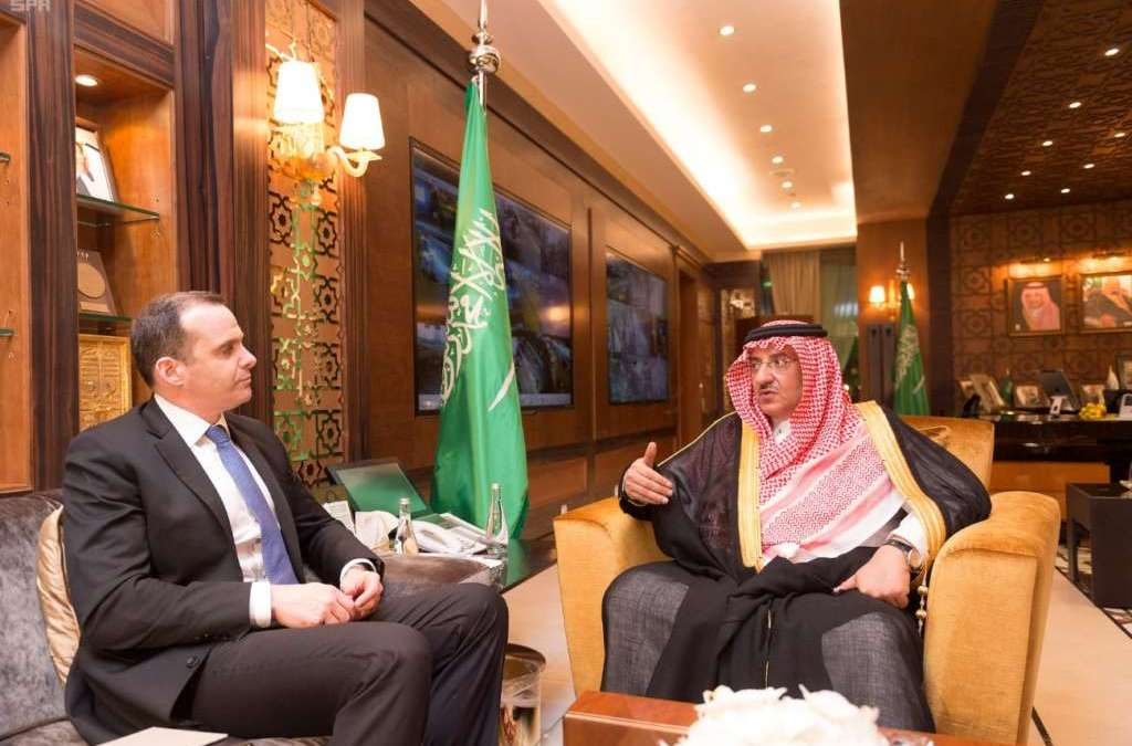 Crown Prince, US Special Presidential Envoy Discuss War on ISIS with