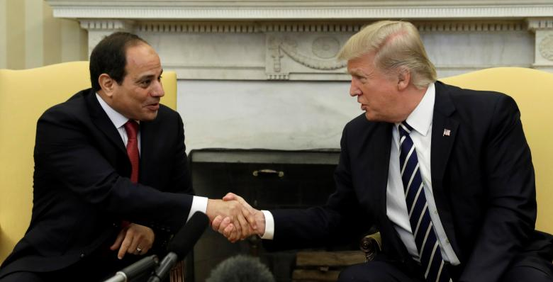 Trump Hosts Sisi in Washington, Moves to Reset Bilateral Relations with Egypt