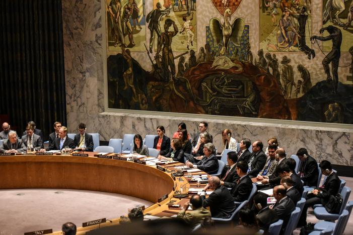 US: Russia Isolates itself When Backing Assad Crimes