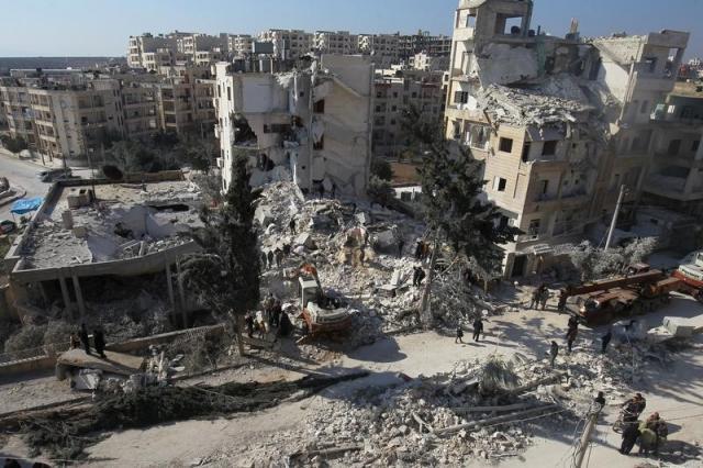 Warplanes Drop Incendiary Bombs in Syria's Idlib