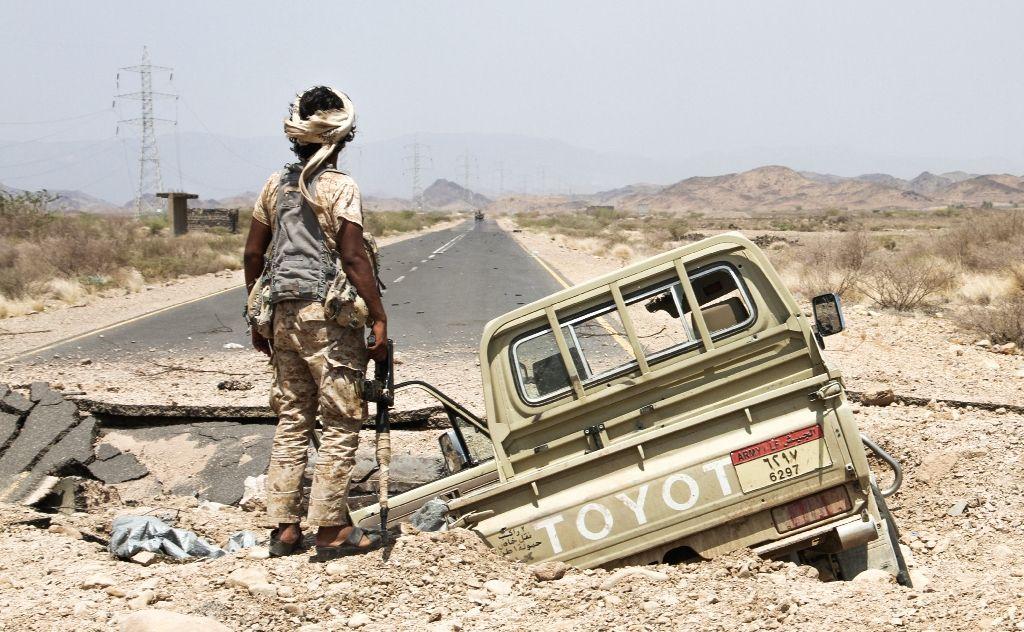 Arab Coalition : Saudi Helicopter Crashed in Yemen