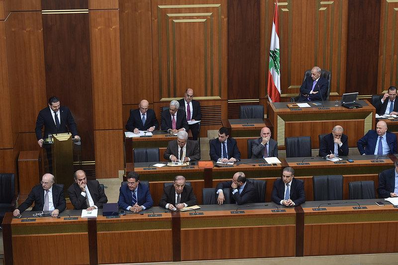 Lebanon: Hariri Details Government Achievements before Parliament