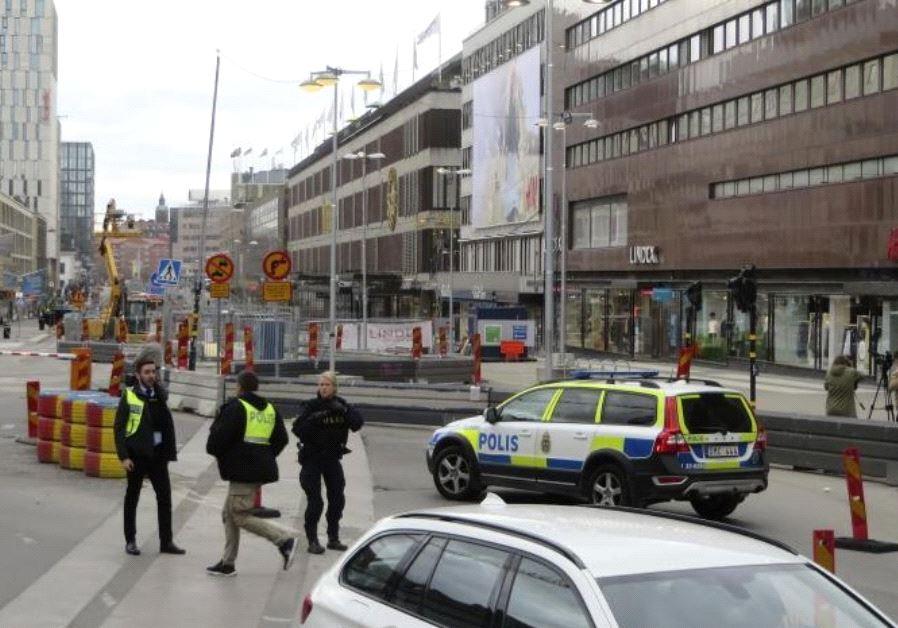 Police: Man Arrested over Stockholm Attack Suspected Driver of Truck