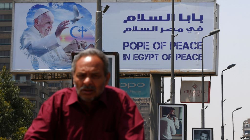 Pope Francis Meets with Sisi, Concludes Al-Azhar Peace Conference