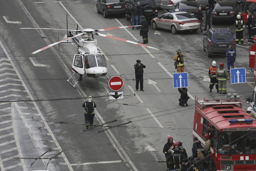 Gunman Attacks Regional Russian Security Service Office as Metro Bombing Death Toll Rises