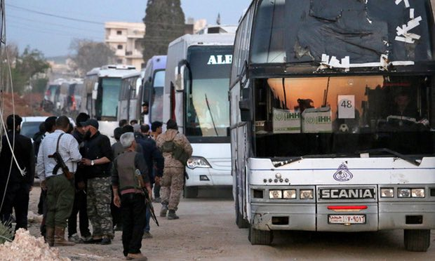 Displacement of Syrians from 4 Towns is Price for Liberating Kidnapped Qataris