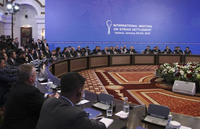Syrian Opposition Factions Agree to Discuss Landmines, Detainees