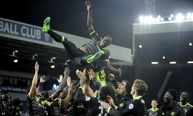 N'Golo Kanté's Relentless Drive Takes Him to Historic Title Double