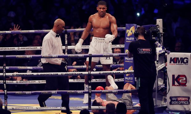 After Flooring Klitschko, Anthony Joshua Now Has the World at His Feet