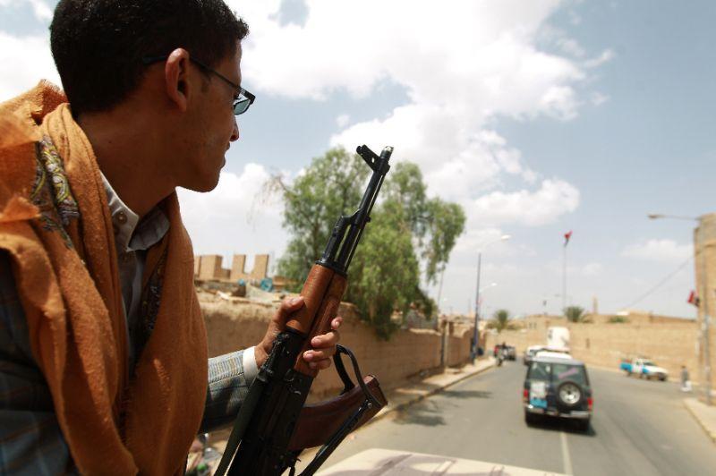Arab Coalition Destroys Missiles Cargo en Route to Insurgents in Yemen's Saada