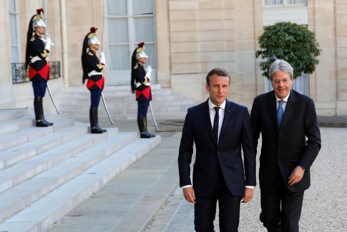 Macron Urges More EU Integration on Migrant Crisis