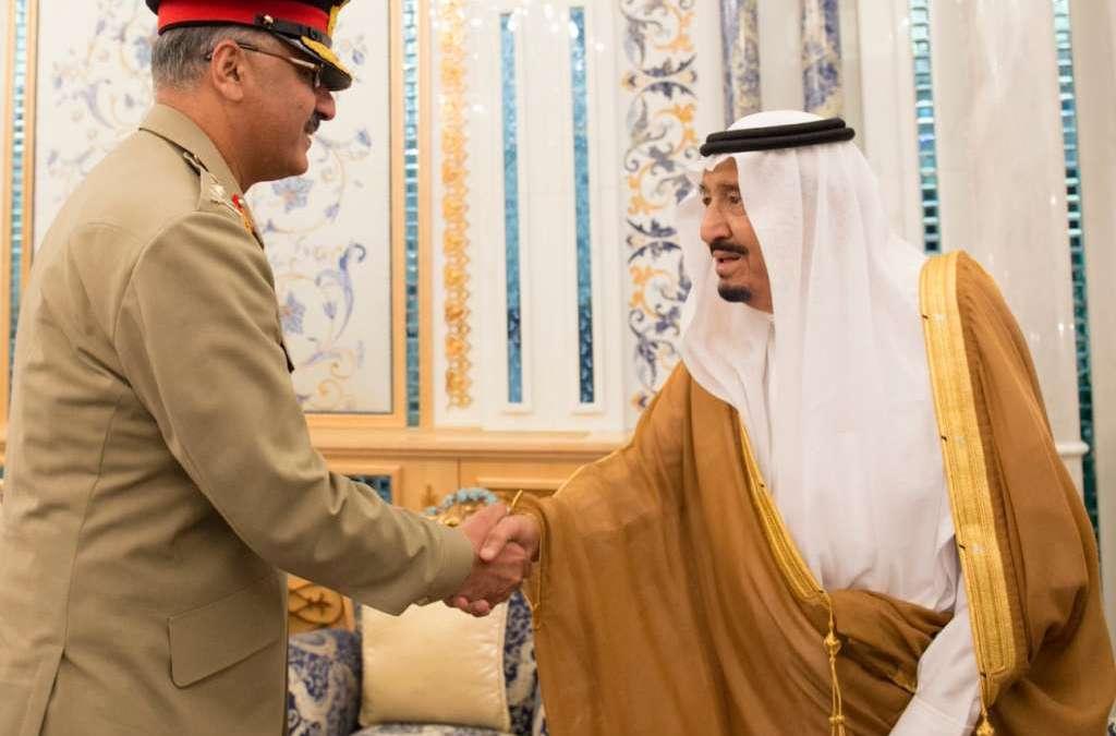 King Salman Receives Chairman of Pakistani Joint Chiefs of Staff