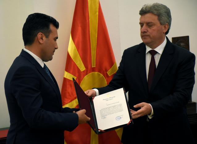 Macedonia President Mandates Opposition to Form Govt.