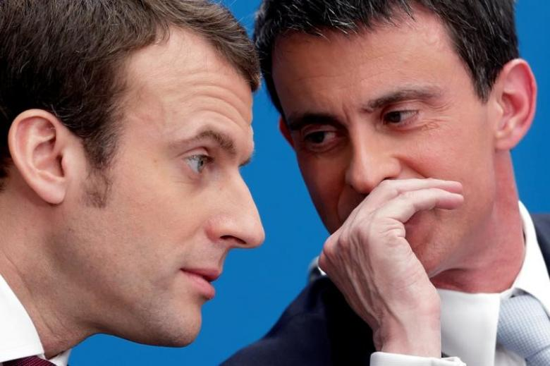 Ex-PM Valls Must Join Macron's Party if he Wants to Run under its Banner in Polls