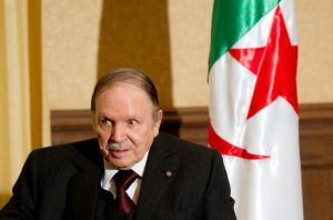 Algerian President Abdelaziz Bouteflika on June 15, 2015 in Algiers, Reuters