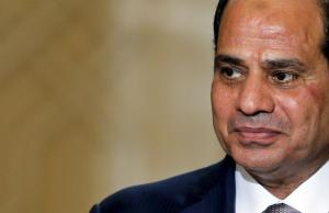 Egypt's President Abdel Fattah al-Sisi attends a ceremony to sign military contracts at the Ittihadiya presidential palace in Cairo