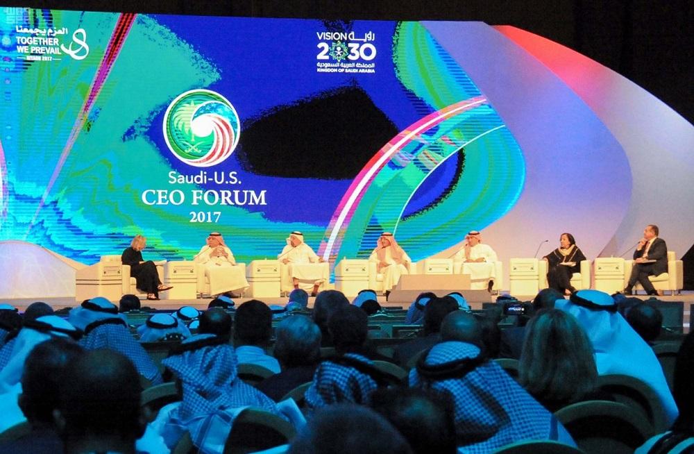 Saudi-US CEO Forum Addresses Kingdom's Vision 2030 in Social, Economic Fields
