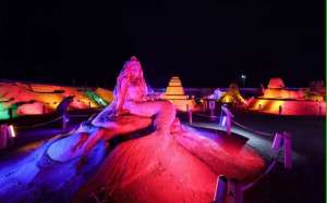 Sand Sculpture Festival Gathers Wonders in Turkey