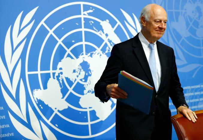 Syria Opposition Expresses Reservations on De Mistura's 'Constitutional Mechanism'