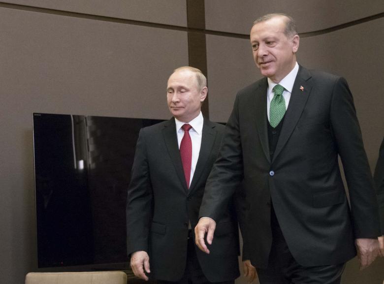 Putin, Erdogan Re-Affirm Pact on Syria